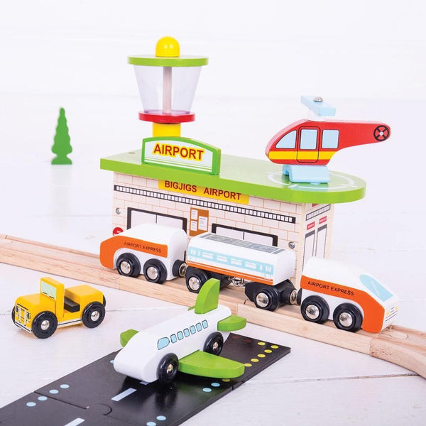 Bigjigs Toys - Transportation Train Set - Eco Child