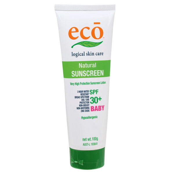 Eco - Natural Baby Sunscreen - 30% SPF - 100g