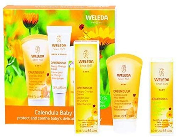 Weleda - Calendula - Organic Baby Care Set - Eco Child