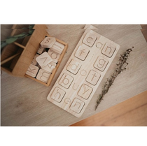 Qtoys -  Natural Wooden Word Kit - Eco Child