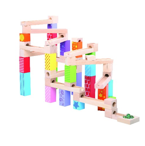 Bigjigs -  Rainbow Marble Run - Eco Child