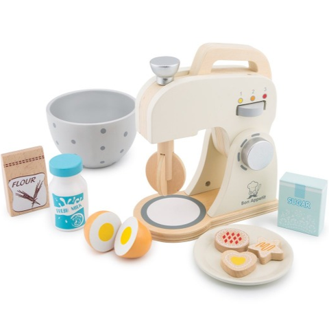 Wooden Baking Set - White - Eco Child