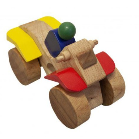 Qtoys - Wooden Motorbike - Eco Child