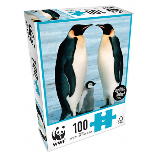 WWF - 100 Piece Puzzle - Penguins