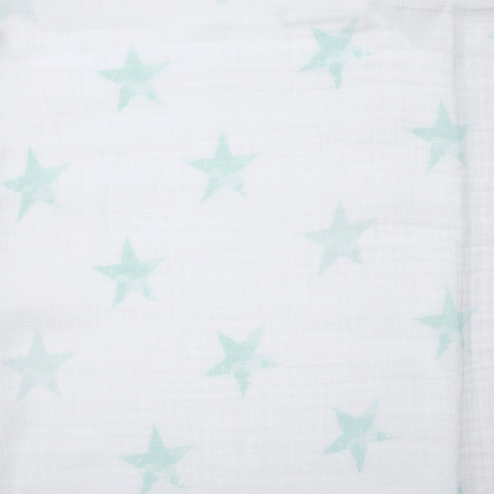 ADEN by Aden and Anais - Single Muslin Cotton Swaddle - Dapper Stars