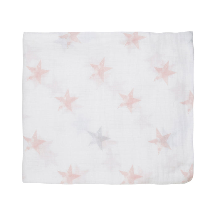 ADEN by Aden and Anais - Single Muslin Cotton Swaddle - Doll - Stars