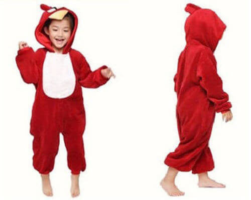 Angry Bird Onesie For Kids - Unicorn Onesies