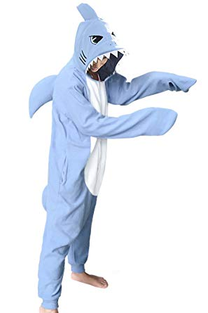 Sky Blue Shark Onesie