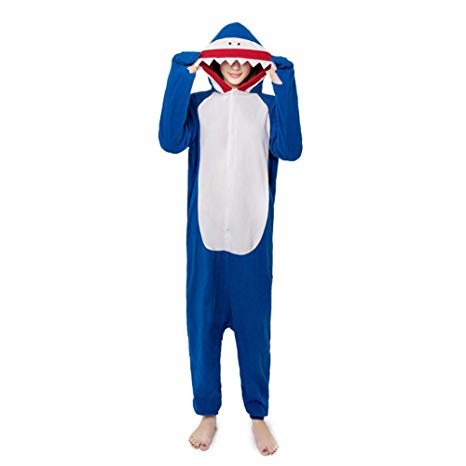Medium Blue Shark Onesie