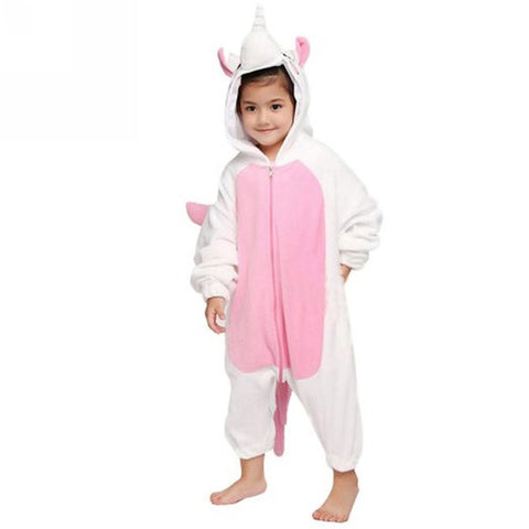 Pink Unicorn Onesie for Kids