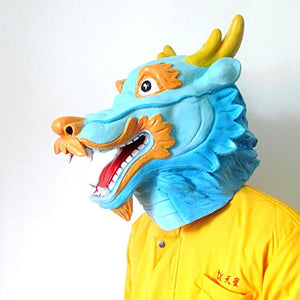 Dragon Mask Animal Adult Size - Unicorn Onesies