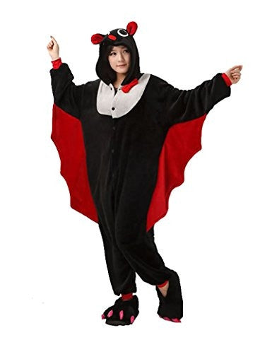 Bat Onesie For Adults
