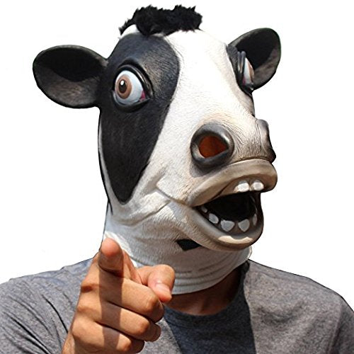 Cow Halloween Mask