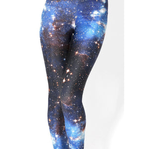 Blue Milky Way Leggings for Women - Unicorn Onesies