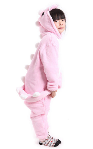 Pink Dinosaur Onesie for Kids