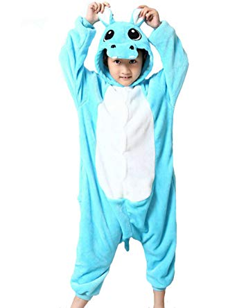 Blue Hippo Onesie for Kids