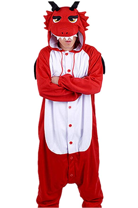 Red Dragon Onesie