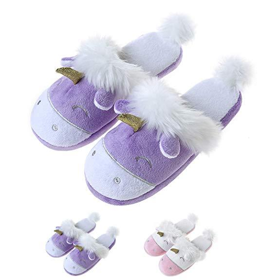 Comfy Purple Slippers