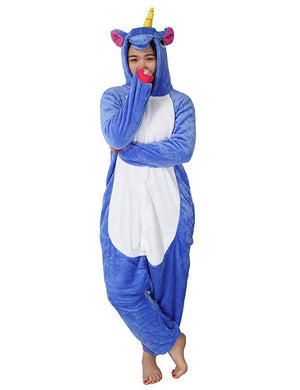 Deep Blue Unicorn Onesie