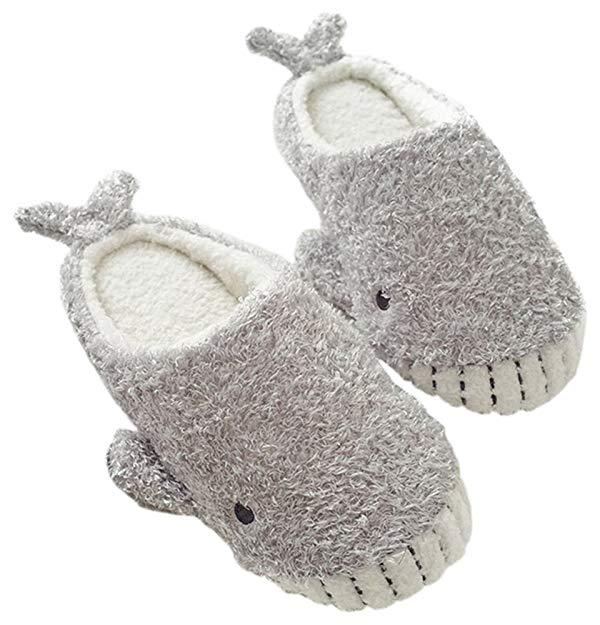 Comfy Whale Slippers