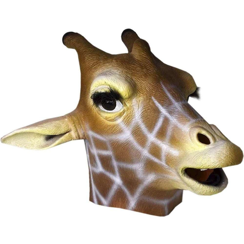 Giraffe Mask Animal Adult Size - Unicorn Onesies