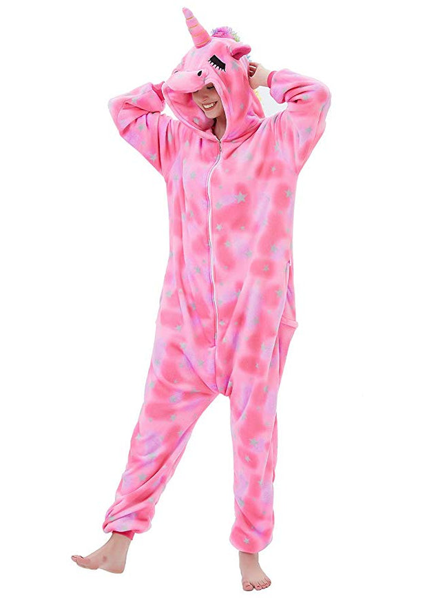 Pink Star Unicorn Onesie