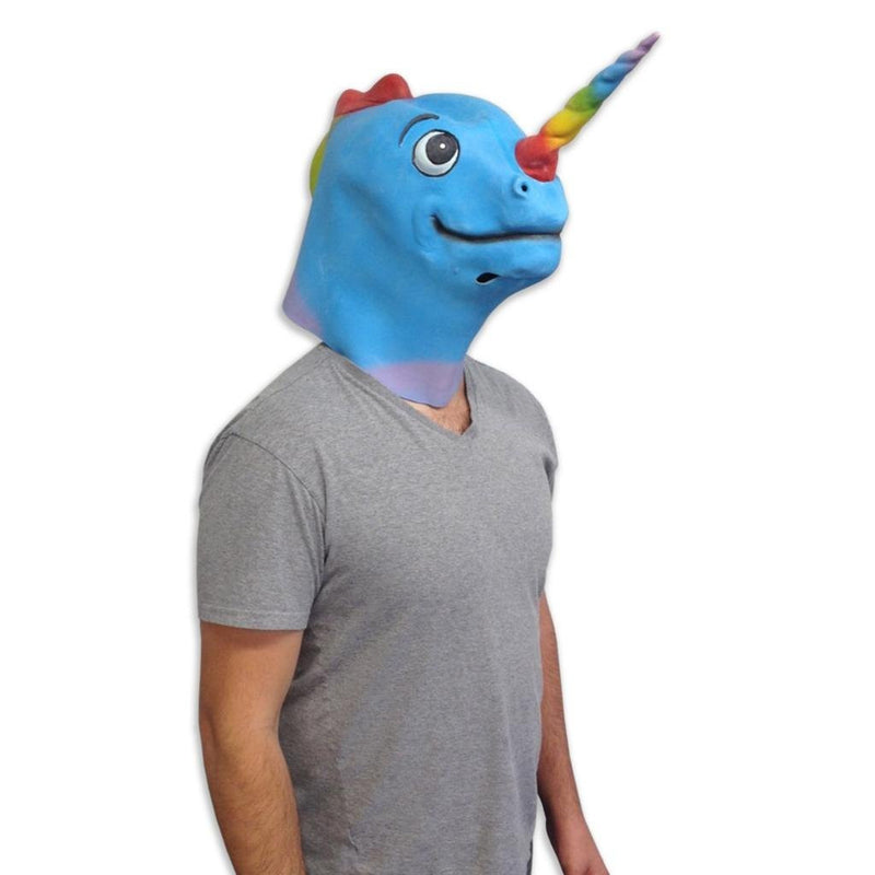 Narwhalicorn Mask Animal Adult Size - Unicorn Onesies