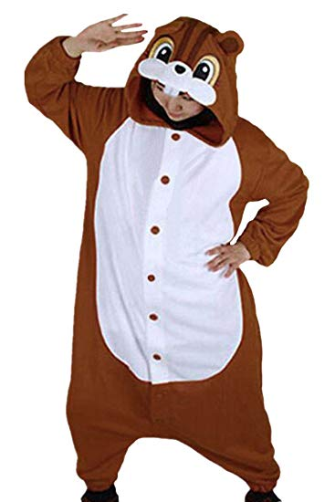 Brown Squirrel Onesie