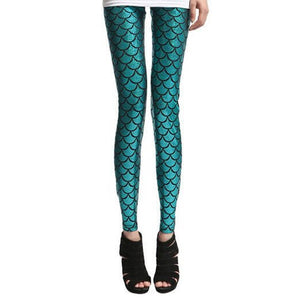Mermaid Leggings  - One Size Fits All - Unicorn Onesies