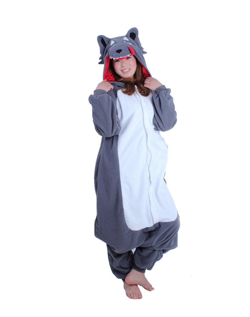 Wolf Onesie For Adults - Unicorn Onesies  - 2