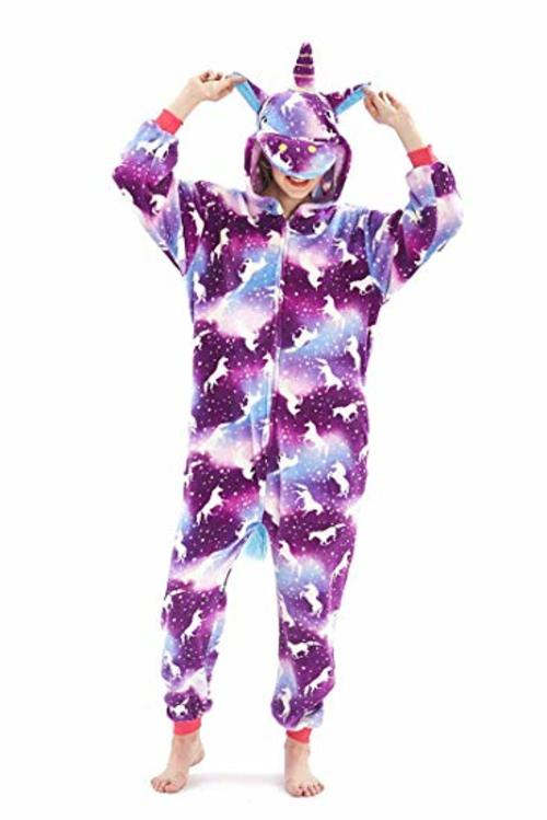Space Print Unicorn Onesie