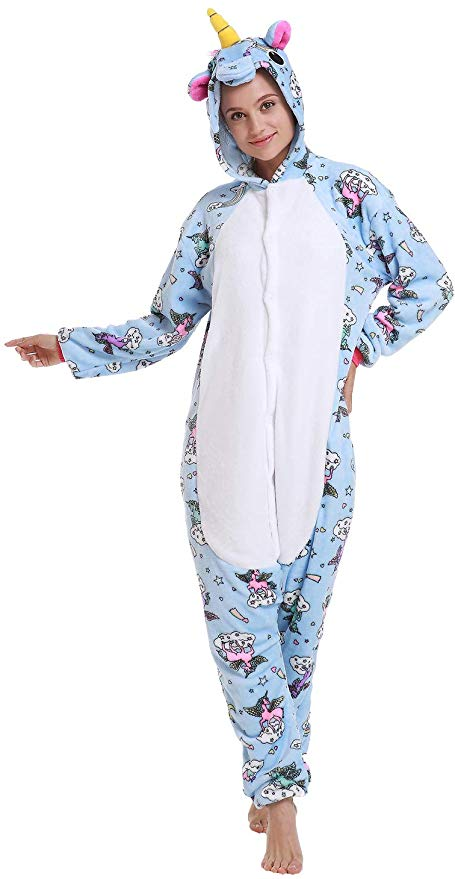 Blue Cloud Unicorn Onesie