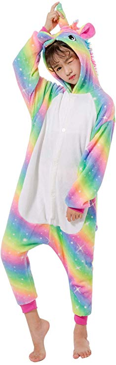 New Rainbow Unicorn Onesie for Kids