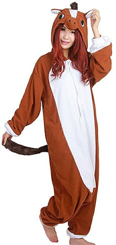 Brown Horse Onesie