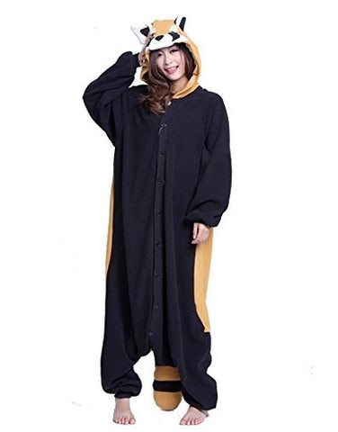 Racoon Onesie for Adults