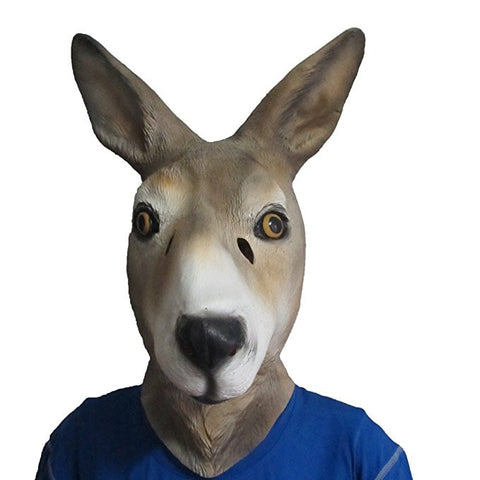 Kangaroo Mask Animal Adult Size
