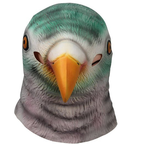 Pigeon Mask Animal Adult Size