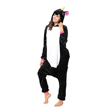 Black Pony Unicorn Onesie