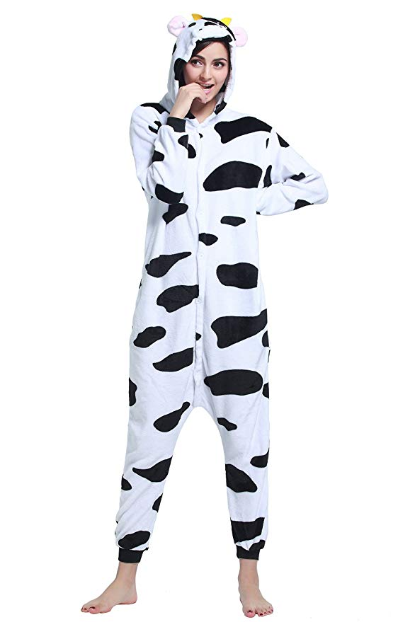 Cow Onesie for Adults
