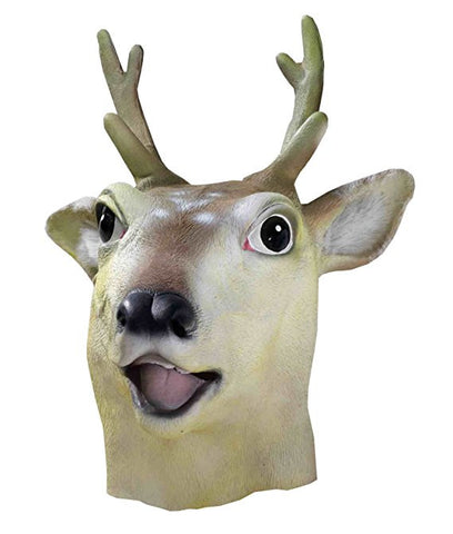 Deer Mask Animal Adult Size