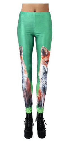 Fox Leggings  - One Size Fits All - Unicorn Onesies