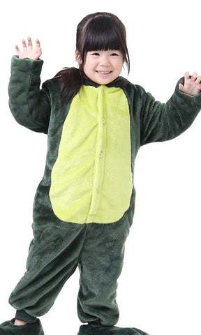 Green Dinosaur Onesie for Kids