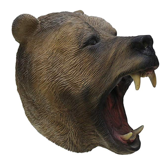 Grizzly Bear Halloween Mask