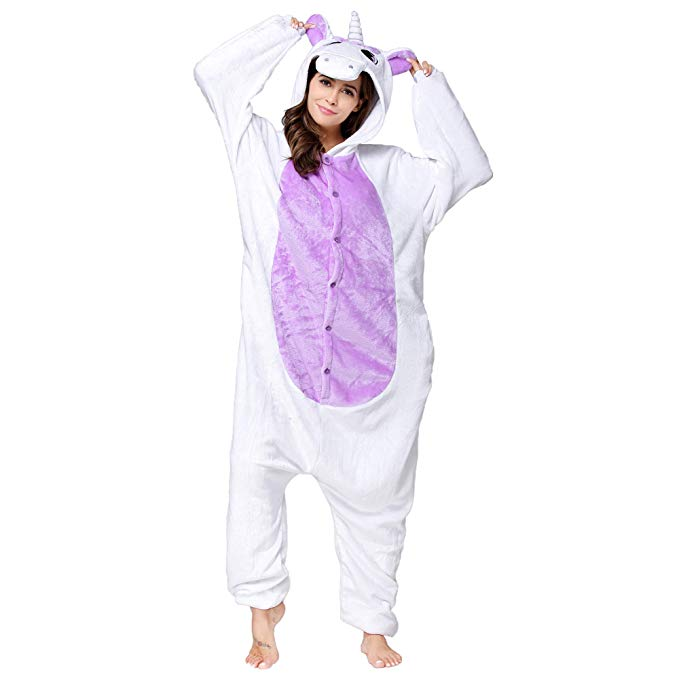 Purple Belly Unicorn Onesie