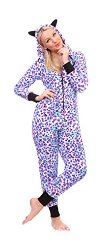Purple Leopard Onesie