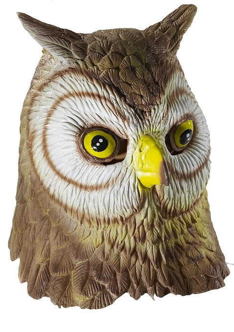 Owl Mask Animal Adult Size - Unicorn Onesies