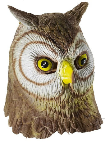 Owl Mask Animal Adult Size