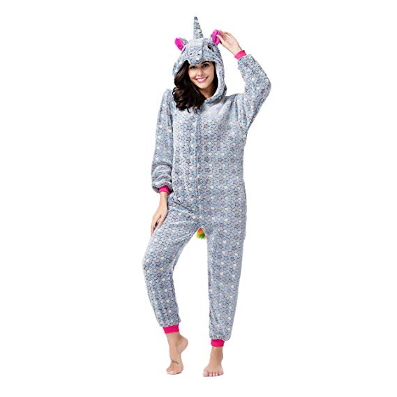 Grey Star Unicorn Onesie