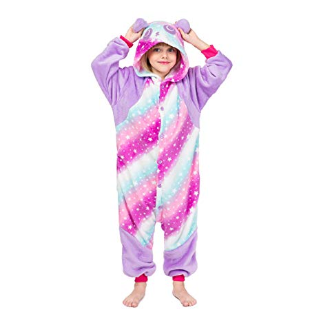 Galaxy Panda Onesie for Kids
