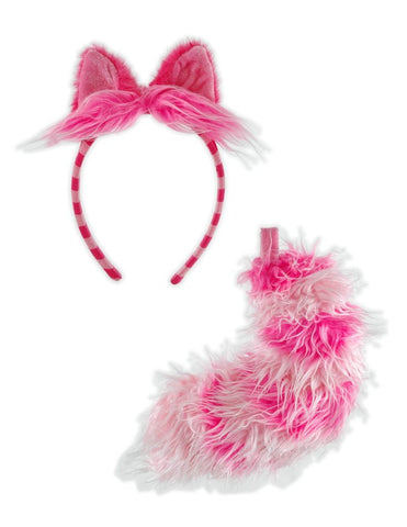 Cheshire Cat Costume Ears and Tail Cosplay